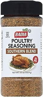 Badia 禽类香料南方混合,5.5盎司(155.65克)(6件装)