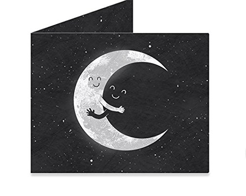 Mighty Wallet Men's Moon Hug, One Size
