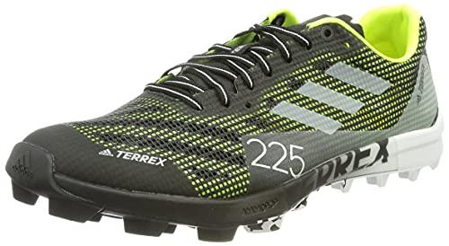 adidas Terrex Speed Pro SG, Zapatillas de Trail Running Unisex Adulto, NEGBÁS/FTWBLA/Amasol, 46 2/3 EU