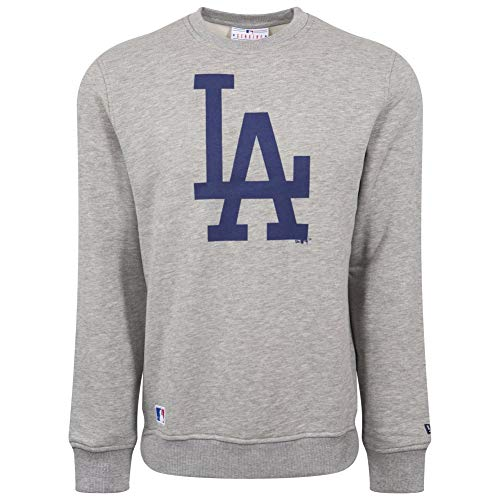 New Era Pullover - MLB Los Angeles Dodgers Gris