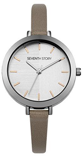 Seventh Story Herren Chronograph Quarz Uhr mit Nylon Armband SS007ES