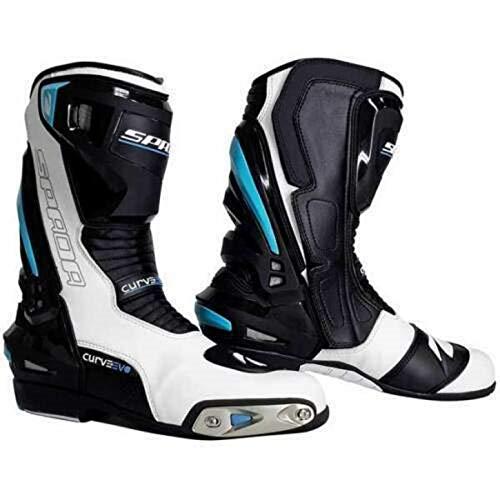Spada Curve EVO - Botas de Moto Impermeables para Hombre,