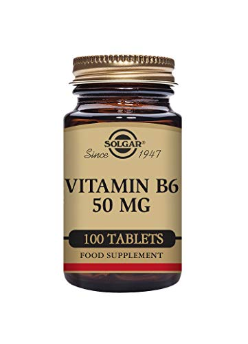 Solgar Vitamin B6 50 mg Tablets - Pack of 100