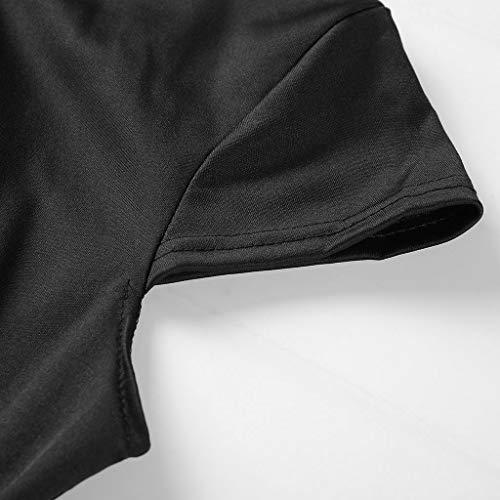Vectry Vestidos Baratos Vestidos Mujer Casual Verano Vestidos Sexys Y Elegantes Moda Mujer 2019 Rebajas Vestidos Vestidos De Mujer Verano Vestidos De Fiesta para Comuniones Vestidos (_Negro, XXL)