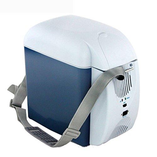 JCOCO Réfrigérateur De Voiture Mini Réfrigérateur Chauffage Et De Refroidissement Boîte Réfrigérateur Électronique De Voiture Chaud Et Froid À Double usage 7 Litres (taille : Car and home)
