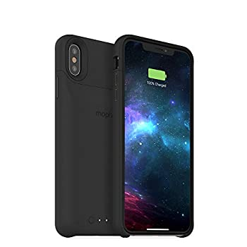 mophie 401002835 Juice Pack Access - Ultra-Slim Wireless Battery Case - Made for Apple iPhone Xs MAX  2,200mAh  - Black