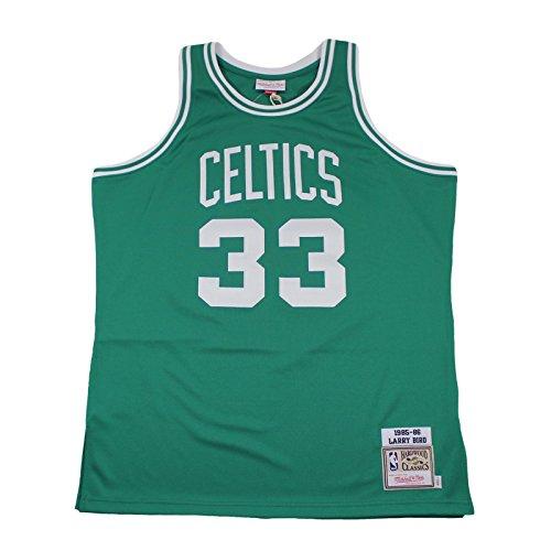 M&N Authentic Jersey LARRY BIRD Boston Celtics 1985-86 NBA Trikot