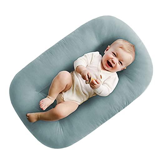 Jingmei para Bebé Nido Reductor para Cuna, Transpirable e hipoalergénico Nido De Bebe - para Viajar y Tomar una Siesta BesBet