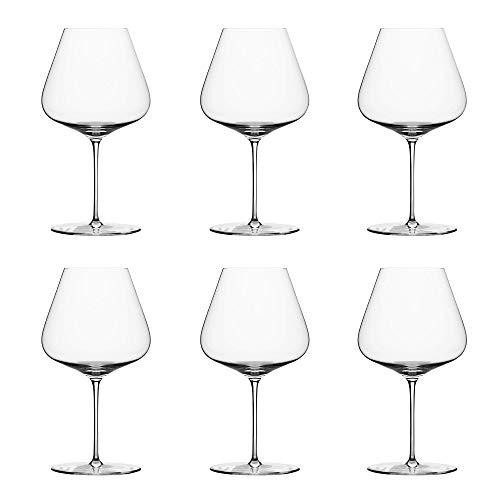 Zalto Denk'Art Burgundy Wine Glass Hand-Blown Crystal | Set of 6
