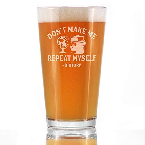 History Teacher Pint Glass