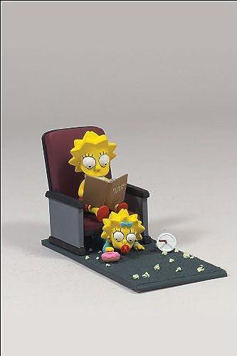 The Simpsons - Movie Mayhem Lisa & Maggie w. sound
