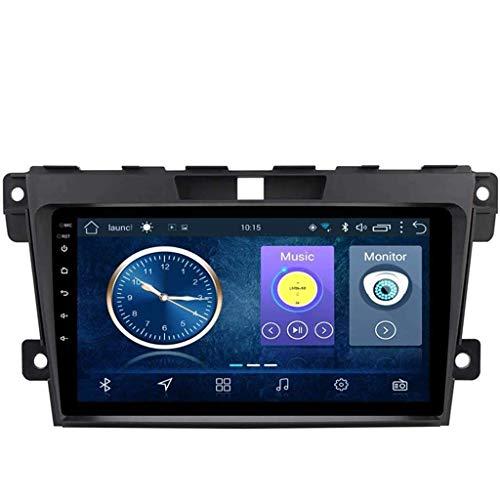 Android 8.1 Navegación Radio TV GPS pantalla táctil de 9 pulgadas para Mazda Cx-7 2008-2015, con DAB CD DVD soporta control del volante Bluetooth USB FM AM,4G + WiFi:2+32G