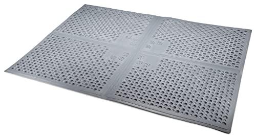 Petlinks Purr-fect Paws Litter Mat, X-Large, Grey (49509)