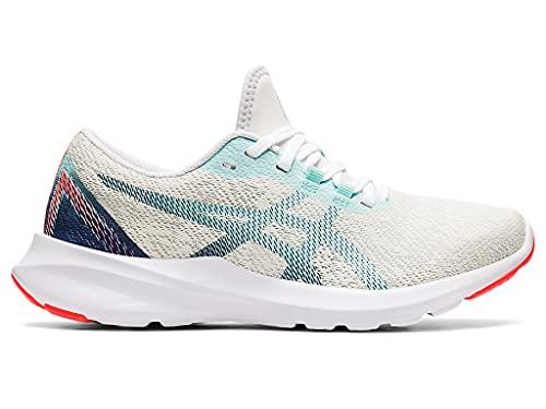 ASICS Women's Versablast MX Running Shoes, 6, White/Thunder Blue