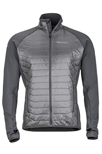 Marmot Variant Jacket Veste POLAIRE, Veste d'extérieur à fermeture éclair Sur toute la longueur, Respirante, résistante au vent Homme Slate Grey/Cinder FR: S (Taille Fabricant: S)