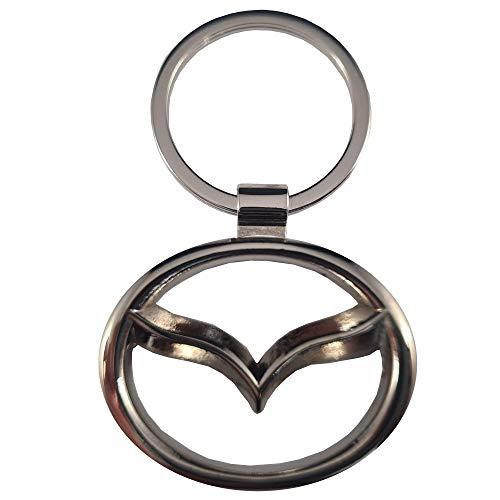 Ludostreet Llavero de Metal Compatible con Marcas de Coche (Mazda)