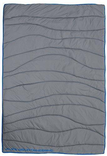 ALPS Mountaineering Wavelength Blanket, Grey/Blue