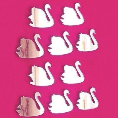 ServeWell décoratif Mini Swan Murale miroirs – Bundle de Dix