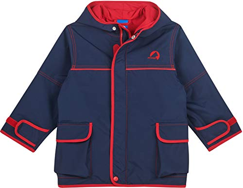 Finkid Tuulis Blau, Kinder Jacke, Größe 130-140 - Farbe Navy - Red