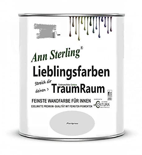 Wandfarbe Innenraumfarbe Ann Sterling Lieblingsfarben Color Farbe Innenfarbe Deckenfarbe (Perlgrau)