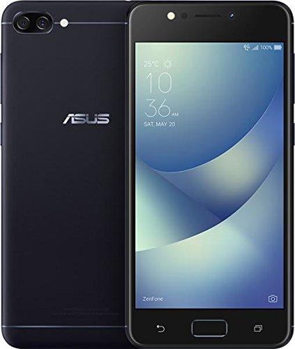 ASUS ZenFone 4 Max 5.2-inch HD 2GB RAM, 16GB storage LTE Unlocked Dual SIM Cell Phone, US Warranty, Black (ZC520KL-S425-2G16G-BK)