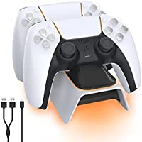 NexiGo Dobe Upgraded PS5 Controller Charger with LED Indicator