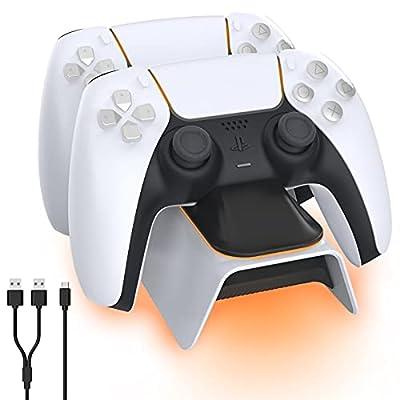 NexiGo Dobe Upgraded PS5 Controller Charger, Pl...