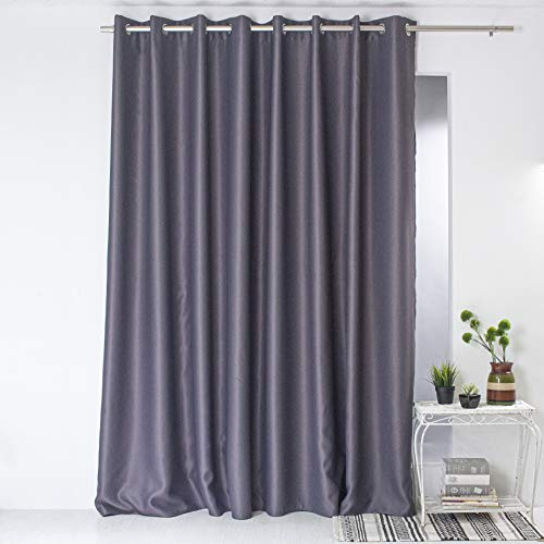 Enjoy Home Occultant 300X240, Polyester, Gris Fonce