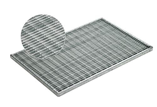 ACO 60x40x2cm Maschenrost 30/10 Gitterrost Eingangsrost Normrost Abstreifer Rost verzinkt