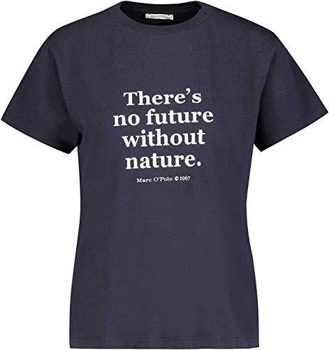 Marc O'Polo T-Shirt, Short Sleeve, Round Neck, blau(Nightsky (881)), Gr. XL