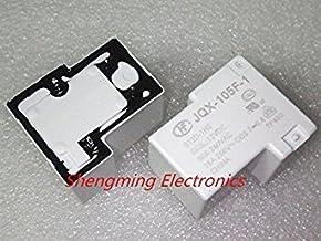 10PCS 12V Relay 30A JQX-105F-1-012D-1HS HF105F-1-012D-1HS 4pin Normally Open