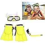 Gearmax Premium Masque et Tuba - Kits de Randonnée Aquatique/Plongée pour Enfant