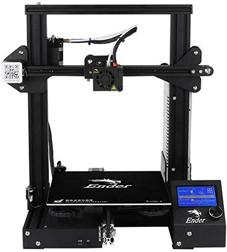 SAFGH 3D Printer Ender-3S Large Printing Size 220 * 220 * 250Mm Aluminum Frame Desktop DIY Half Assembled Kit