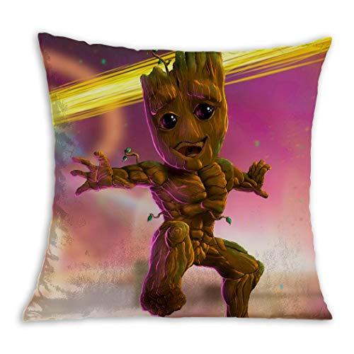 Cojín Guardianes de la Galaxia - Root bailando