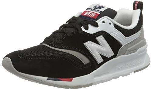 New Balance 997H m, Zapatillas Mujer, Negro (Black/Red Hae), 36 EU