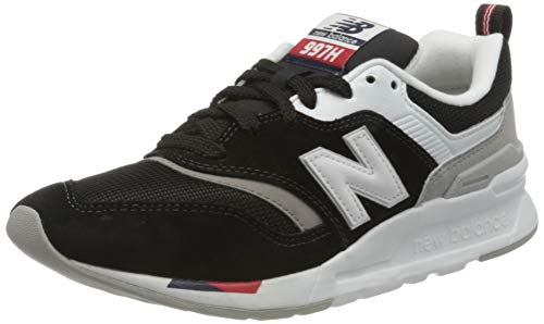 New Balance Damen 997h d Sneaker, Schwarz (Black/Red Hae), 41.5 EU