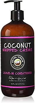 RENPURE Coconut Whipped Creme Leave-In Conditioner Basic Fragrance 16 Fl Oz