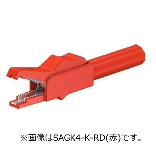 STAUBLI ワニ口クリップ(15A、黒) SAGK4-K-BK
