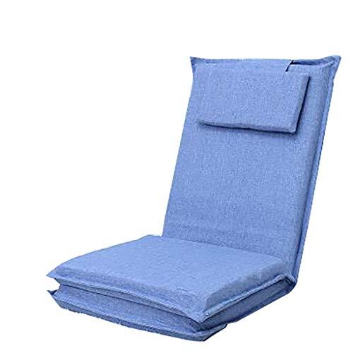 ALKRQE Lange zurück faul Couch Faltbare japanische Bett Einzelsofa Rücken Fenster Stuhl (Farbe : B)