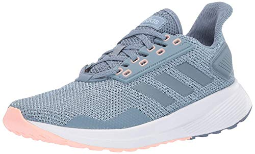 adidas Women's Duramo 9 Running Shoe, raw Grey/raw Grey/ash Grey, 9.5 M US