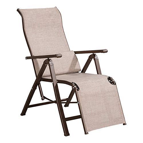 Outdoor Folding Sun Lounger Recliner Lounger Chair Recliner Chair for Home