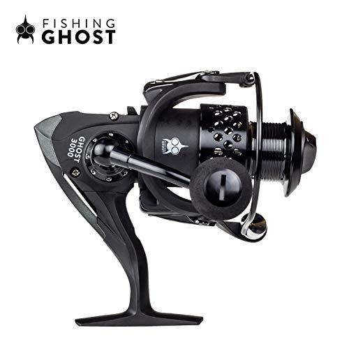 FISHINGGHOST® REEL3000 Angel Spinnrolle 265gr ideal für Jede Rute mit Wurfgewicht zwischen 20-80gr oder als Schlepprute, Hecht, Waller, Zander, Dorsch oder Lachs
