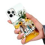 CuteCases Clear Housse pour Nokia 5.1 Plus Coque de Téléphone Personnalisée avec Photo...