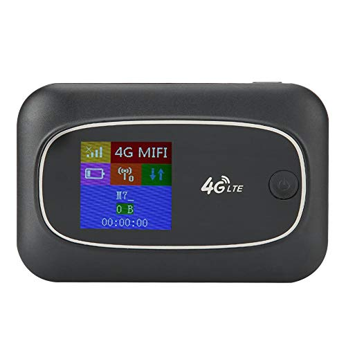 Universal 4G WiFi Router, Portable Multiple Languages CAT4 150Mbps Three Network Universal Mini MIFI Mobile WiFi Hotspot Unlocked Wireless Internet Router Devices for Travel Outdoor