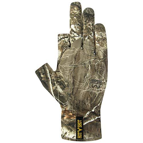 Hot Shot Men's Copperhead Stretch Three Finger Glove – Outdoor...