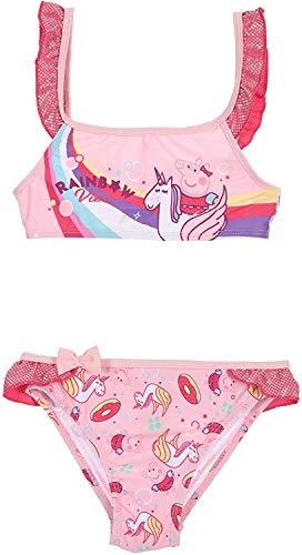 Peppa Pig Bikini mit Einhorn (rosa, 3 Jahre)