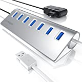CSL-Computer Primewire - Activo USB 3.0 Hub con 7 Puertos Incl. Fuente de...
