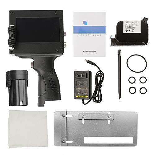 Bewegliche Hand Jet Hand Thermal Inkjet-Drucker für Logo/Verfallsdatum/Chargennummer/Seriennummer/Label/Barcode/Qr