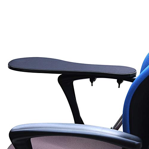 XL Size Chair Arm Rest Mouse Pad Chair Arm Clamping Wrist Support 480230mm Elbow Rest with Non-Slip Mouse Mat OK020
