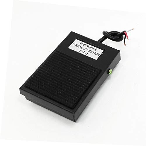 X-DREE AC 220V 16A Hochleistung SPDT KEIN NC Antislip wesentlich Momentary Power Treadle gut gemacht Fußpedalschalter Fußschalter(bb2-0e-ef-46f)